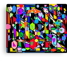 INTO THE MIND OF A GENIUS Canvas Print
