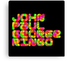 John Paul George Ringo Canvas Print