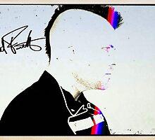 Matt Farnsworth Side Profile Autographed  by theorphankiller