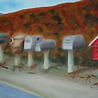 Mail Gathering by Sharon Ellem-Bell