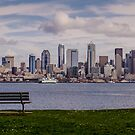 Bench with a View by Dan Mihai