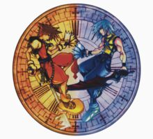 Sora and Riku Clock Edit (by GloomyGloo) by VennDiagram