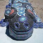 Giant Blue Gecko by stevemonk