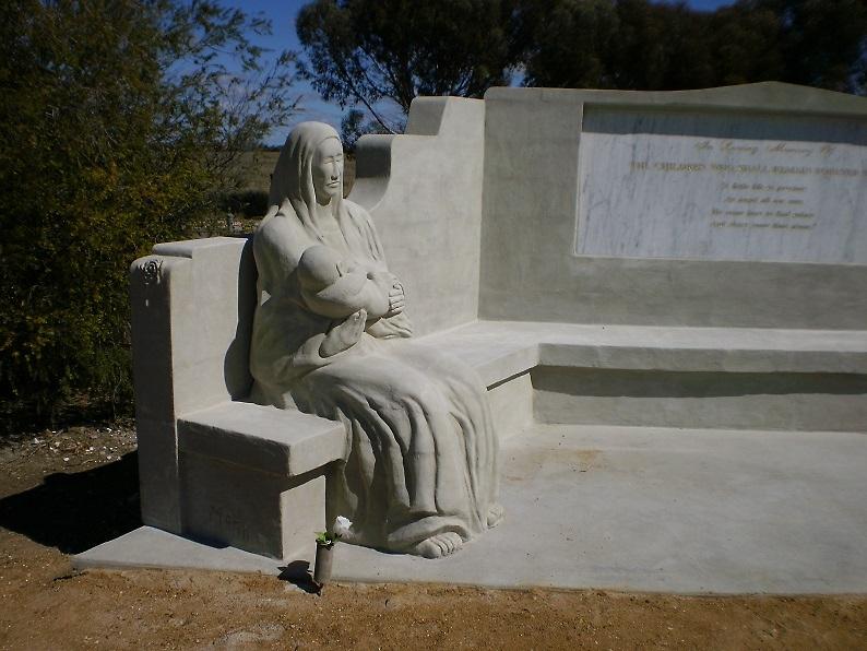 Infant Death Memorial (left side) by stevemonk