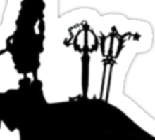 Sora -Three Keyblades- Sticker