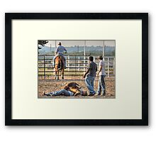 Now What? Framed Print