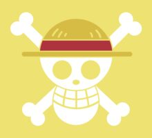 Luffy - OP Pirate Flags - Colored Kids Clothes