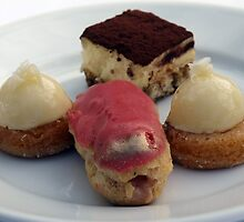 Desserts from Patina by Rebecca Dru