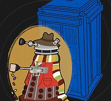 Daleks in Disguise - Fourth Doctor by Meghan Murphy