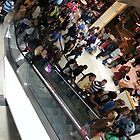 Busy mall by dlfmr