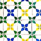 Portugal Tile Number Twenty Three by Michael Kienhuis