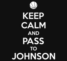 Keep Calm and pass to Johnson by aizo