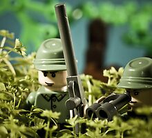 The LEGO Sniper Army by jarodface