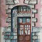 The Door of my Favorite Building by Tania Vasylenko