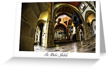 Blackburn Cathedral Christmas card by inkedsandra