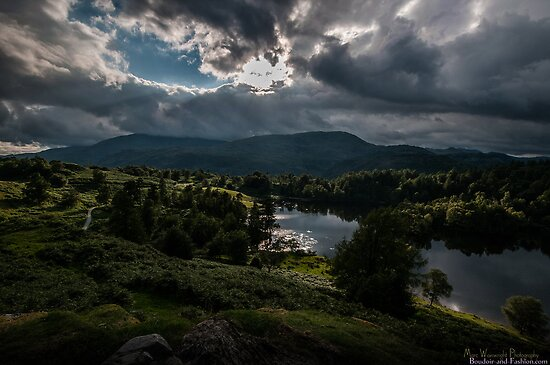 Trouble Brewing over Tarn Hows  by MarcW