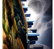 Land city and planets  by RamsesXll