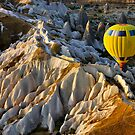 Hot air balloon flight over Cappadocia by Hercules Milas