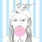 Bubblegum Girl by emilyhline