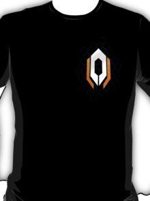 Mass Effect - Cerberus(White) - Chest Left T-Shirt