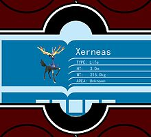 POKEMON: Pokedex vs Xerneas for iPhone 4/4s by Ruo7in