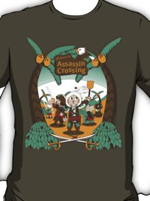 Welcome to Assassin Crossing T-Shirt