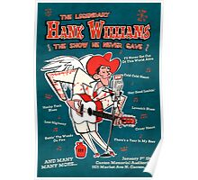 Hank Williams Poster