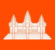Angkor Wat / Khmer / Cambodian Flag Kids Clothes