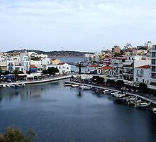 View of the Water Inlet on the Island of Crete in Greece 3 by JaguarJulie