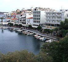 View of the Water Inlet on the Island of Crete in Greece 5 by JaguarJulie