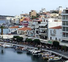 View of the Water Inlet on the Island of Crete in Greece 7 by JaguarJulie
