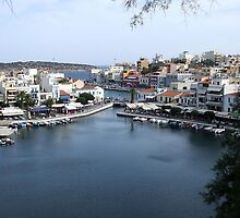 View of the Water Inlet on the Island of Crete in Greece 10 by JaguarJulie