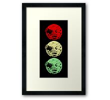 Trip to the Moon Colour Framed Print
