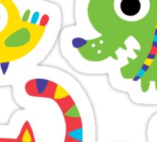 Lil' Rascal Critters Sticker