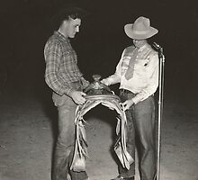 Jack Wade Awarded 1941 Iowa State Championship Saddle by Robert Stanford