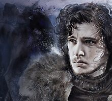 Jon Snow: Game of Thrones by chickenhead