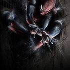 Spider-Man web by chickenhead