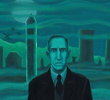 HP Lovecraft the explorer by aglastudio