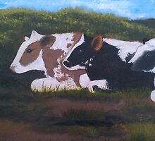 Lazy Cows by LisaMarina