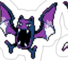 Zubat evolution (Gen 2) Sticker