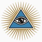 All Seeing Eye Of God - Eye Of Providence - Symbol Omniscience by nitty-gritty