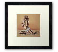 Brigitte Framed Print