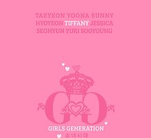 Girls Generation Tiffany iPhone Case by goyangi