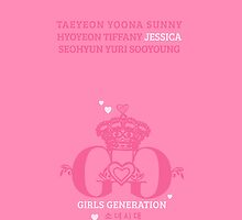 Girls Generation Jessica iPhone Case by goyangi
