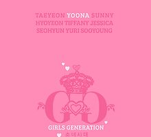 Girls Generation Yoona iPhone Case by goyangi