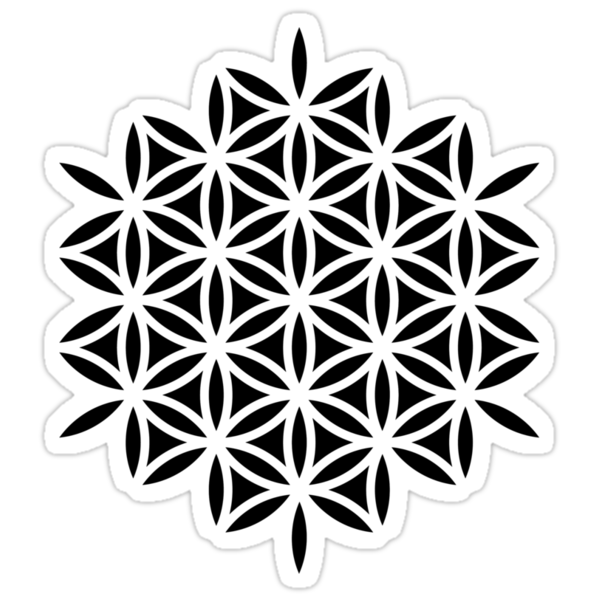 Flower of life, sacred geometry, Metatrons cube by nitty-gritty