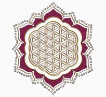Flower of life, sacred geometry, Metatrons cube, symbol healing & balance   Kids Clothes