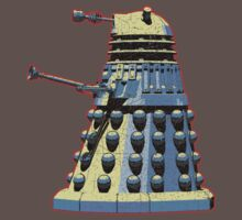 Vintage Look Doctor Who Dalek Graphic Kids Clothes