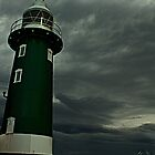 South Mole Lighthouse - Fremantle by Mark  Nangle