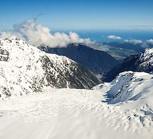 Fox Glacier by Rossow